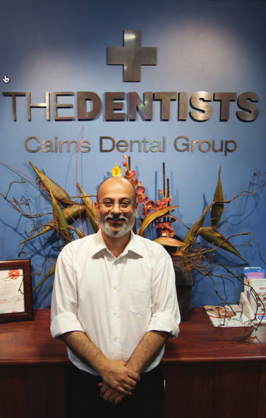 Dr. Nirav Vidyarthi at The Dentists on Mulgrave Road in Cairns